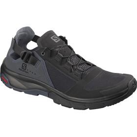 Salomon Techamphibian 4 Naiset kengät , harmaa/musta